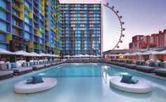 The suites of The LINQ feature slick contemporary designs, offering a fresh take on Las Vegas vacations. Find out our top ten reasons to visit The Linq.
