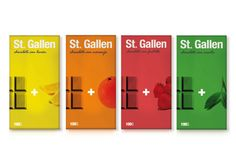 """""""The goal was to create a vintage Chocolate Bar with direct references to swiss design. The colors used in each pack represent the flavour of each chocolate bar."""""""