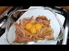 Después de esta receta no comerás Atún de otra manera - YouTube Fish Recipes, Frozen, Food And Drink, Beef, Cooking, Breakfast, Tortillas, Youtube, Ideas