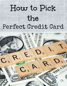 How to Pick the Perfect Credit Card for your Family