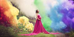 The Story Behind This Breathtaking Rainbow Baby Maternity Shoot Is Heartrending - Cosmopolitan.com