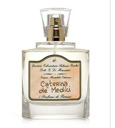 i Profumi di Firenze - Caterina de Medici - 50 ml.  Damascus rose, lily of the valley, and iris notes.
