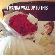 Bed full of roses