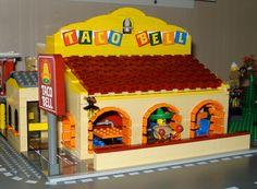 Lego taco bell