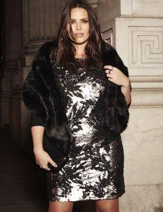 Plus Size Sequin Dress Plus Fashion Curvy Girl Fashion Fashion Models Womens Fashion
