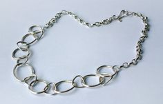 Check out this item in my Etsy shop https://www.etsy.com/uk/listing/263418719/sterling-silver-circle-link-necklace
