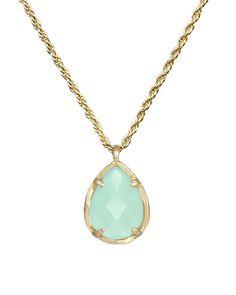 Kiri Necklace in Chalcedony - Kendra Scott Jewelry