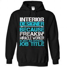 Interior Designer - #diy tee #sweater vest. ORDER NOW => https://www.sunfrog.com/No-Category/Interior-Designer-5952-Black-Hoodie.html?68278