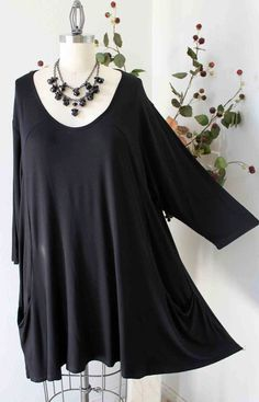 New Versatile Full Figure Plus size Tunic top by Dare2bStylish, $35.00