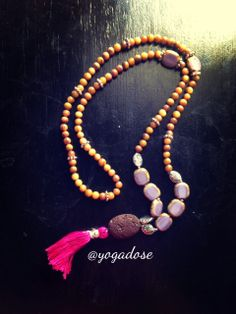 Mala Meditation Necklace - Strength and Dignity