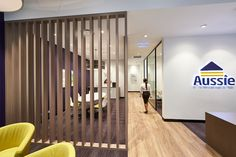 inOne Projects had a tight construction timeframe and had to ensure that every detail remained true to the brand. Nevertheless, inOne delivered a clean and refined space with scrupulous attention to detail that the rapidly expanding company, Aussie, can enjoy.