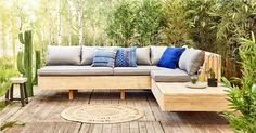 Why Teak Outdoor Garden Furniture? Outdoor Couch, Outdoor Garden Furniture, Outdoor Lounge, Outdoor Seating, Outdoor Spaces, Diy Furniture, Outdoor Living, Outdoor Decor, Garden Sofa