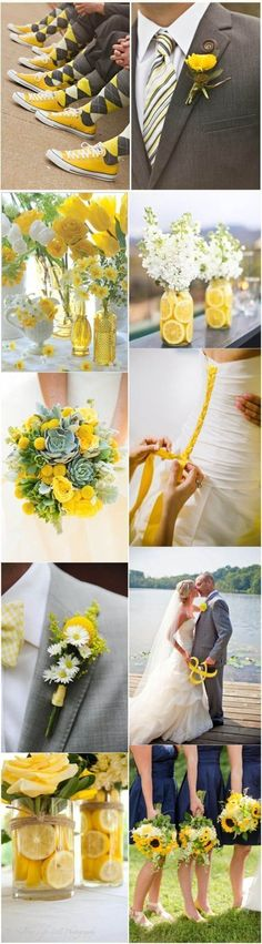 Home » Spring Weddings » 2017 Spring Wedding Color and Ideas » 2017 Primrose yellow wedding ideas