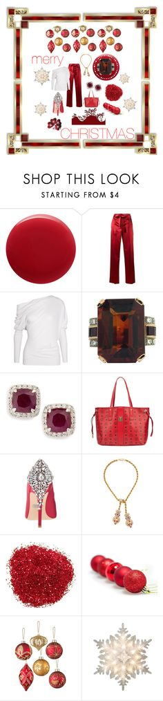 """Merry Christmas, Baby!"" by miracle-child-1 ❤ liked on Polyvore featuring Oribe, Helmut Lang, Tom Ford, John Hardy, MCM, Badgley Mischka, Giovane, Improvements and GE"