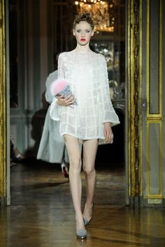 One of  21 Fantasy Wedding Dresses From the Couture Runways  - ELLE.com - ULYANA SERGEENKO (=)