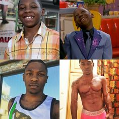 Dang...the glo up..is real the body on fleek..!  Stanley done grew up