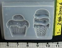 Resin Obsession:  Cupcake & Ice Cream Mold 848 $3.79  -- great for picnic decorations