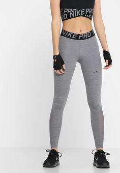 Nike Performance W NP TIGHT - Legging - gunsmoke/heather/gunsmoke/black - Zalando. Tight Leggings, Workout Leggings, Sport Nike, Forever Unique, Models, Calvin Klein Jeans, Mannequin, Juicy Couture, Fitness