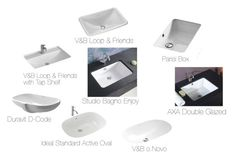 """""""Undercounter Basins"""" by insideout1 on Polyvore featuring interior, interiors, interior design, home, home decor, interior decorating and Villeroy & Boch"""