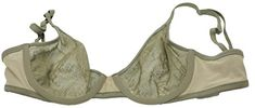 Victorias Secret See Through Unlined Perfect Coverage PushUp Bra Green 32D -- Read more reviews of the product by visiting the link on the image.