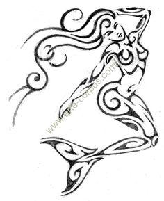 tribal mermaid