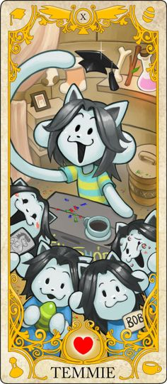 Wheel Of Fortune: Temmie