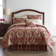 Home ExpressionsTM Chandler Damask Complete Bedding Set with Sheets