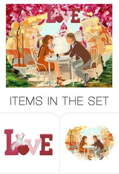 """""""Love"""" by stylepetronio ❤ liked on Polyvore featuring art"""