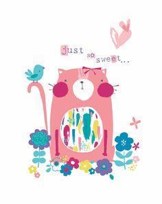 Sweet Pink Kitty (Genine Delahaye)