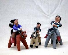 Navajo mud toys
