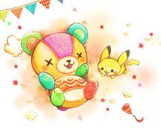 Stitches! #Pikachu