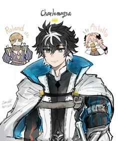 The King and His loyal Knights U always imagined Charlemagne blond. All Anime, Anime Guys, Anime Art, Baguio, Fate Zero, Darling In The Franxx, Type Moon, Fate Stay Night, Fire Emblem
