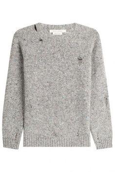 Marc Jacobs Marc Jacobs Strickpullover aus Wolle und Kaschmir – Grau