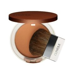 Clinique Sunblushed True Bronze Pressed Powder Bronzer (375 ZAR) ❤ liked on Polyvore featuring beauty products, makeup, cheek makeup, cheek bronzer, sunblushed, clinique and bronzing powder