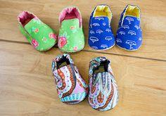 no 711 Mason Baby Shoes PDF Pattern