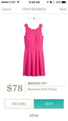 Brixon Ivy Beverlee Knot Dress I love Stitch Fix! Personalized styling service and it's amazing!! Fill out a style profile with sizing and preferences. Then your very own stylist selects 5 pieces to send to you to try out at home. Keep what you love and return what you don't. Try it out using the link! #stitchfix @stitchfix https://www.stitchfix.com/referral/5634870
