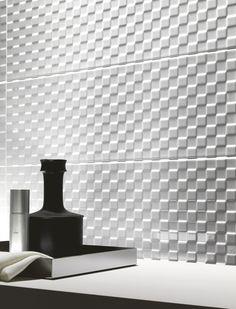 Indoor white-paste wall #tiles PRESTIGE by Ragno - Marazzi Group #mosaic #white @Marazzi