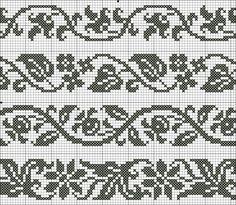 Cross Stitch Bookmarks, Cross Stitch Borders, Cross Stitch Flowers, Cross Stitch Designs, Cross Stitching, Cross Stitch Embroidery, Embroidery Patterns, Cross Stitch Patterns, Fair Isle Knitting Patterns