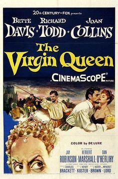The Virgin Queen - Bette Davis, Richard Todd, Joan Collins, Herbert Marshall Mariette Hartley, Two Movies, Classic Movies, I Movie, Joan Collins, Bette Davis, Richard Todd, Herbert Marshall, Divas