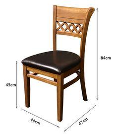 restaurant chairs dimension Wooden Dining Chairs, Farmhouse Dining Chairs, Dining Furniture, Furniture Design, Restaurant Chairs For Sale, Modern Restaurant, Restaurant Furniture, Wooden Kitchen, Timber Kitchen