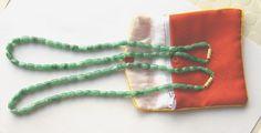 "17"" Genuine Burmese Jade Necklace"
