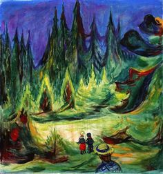 The Enchanted Forest - Munch