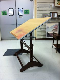 I always, always wanted a drafting table.... Still would love to find the time to draw and paint!