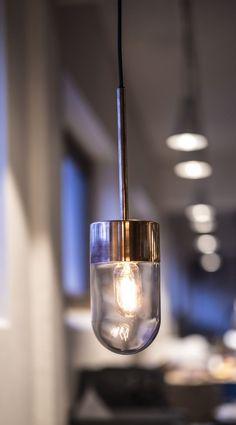 Hänge-Lampe / modern / für Innenbereich / aus Messing - VOX by Niclas Hoflin - Ruben Lighting