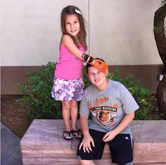 Girl With Orioles-Themed Prosthetic Hand Has Baseball Wish Fulfilled