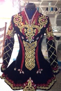 **Jean Olsson**Irish Dance Solo Dress Costume**