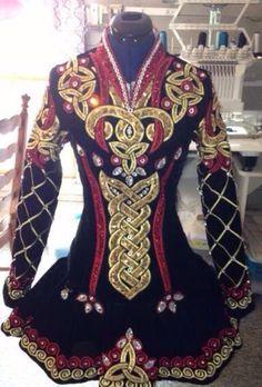 **Jean Olsson**Irish Dance Solo Dress Costume**