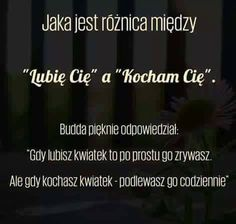 Różnica między Kocham, a Lubię Strong Quotes, Sad Quotes, Words Quotes, Motivational Quotes, Life Quotes, Inspirational Quotes, Sayings, Romantic Quotes, Motto
