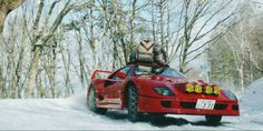 A Snow-Rallying Ferrari F40 Is so Wrong, But so Very Right