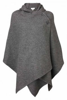 Boiled Wool Poncho - Witchery